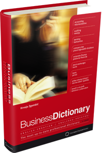 Business Dictionary, English-Croatian, Englesko-hrvatski