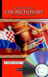 Law Dictionary 2.0, English-Croatian, Croatian-English, softver